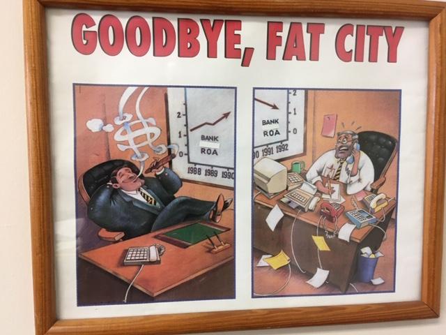 Goodbye, Fat City cartoon