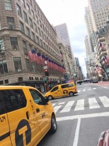 Fifth Avenue in NYC